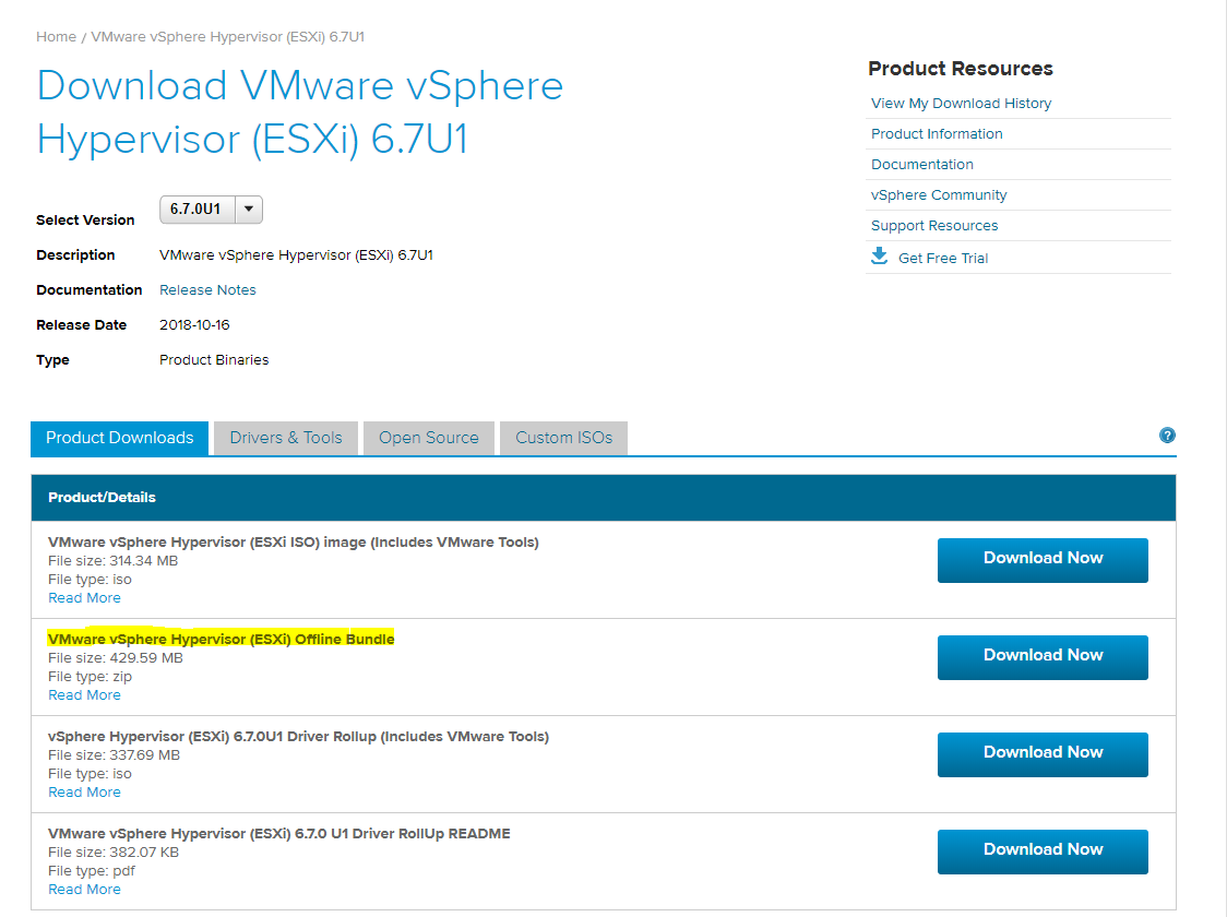 VMware vSphere ESX 6 7 | No network adapters were detected